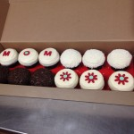 Cupcake box with a special message for mom!