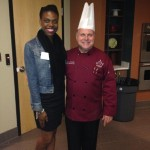 Erica Williams and Chef Dale Miller