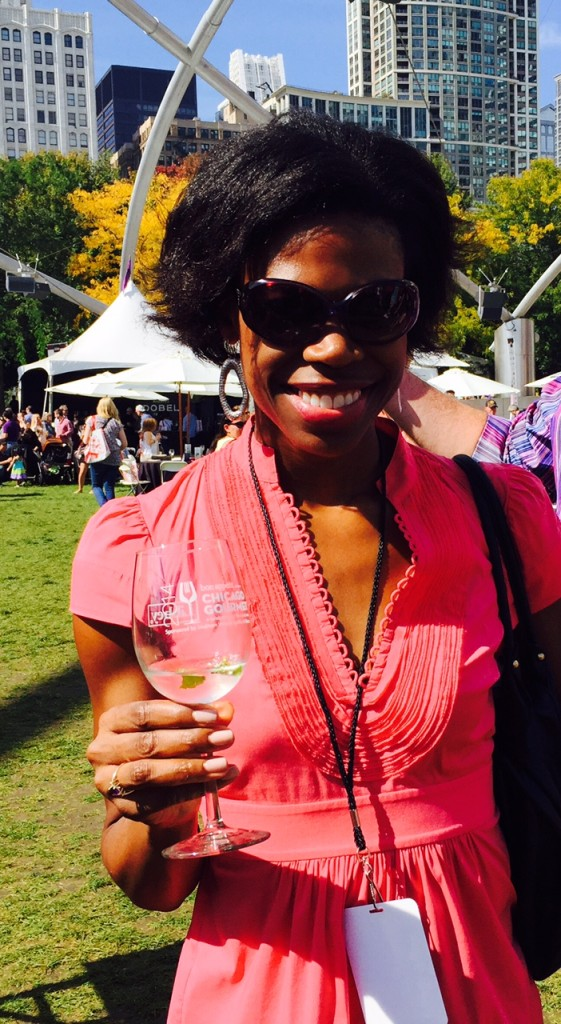 Cheers from Chicago Gourmet 2014!