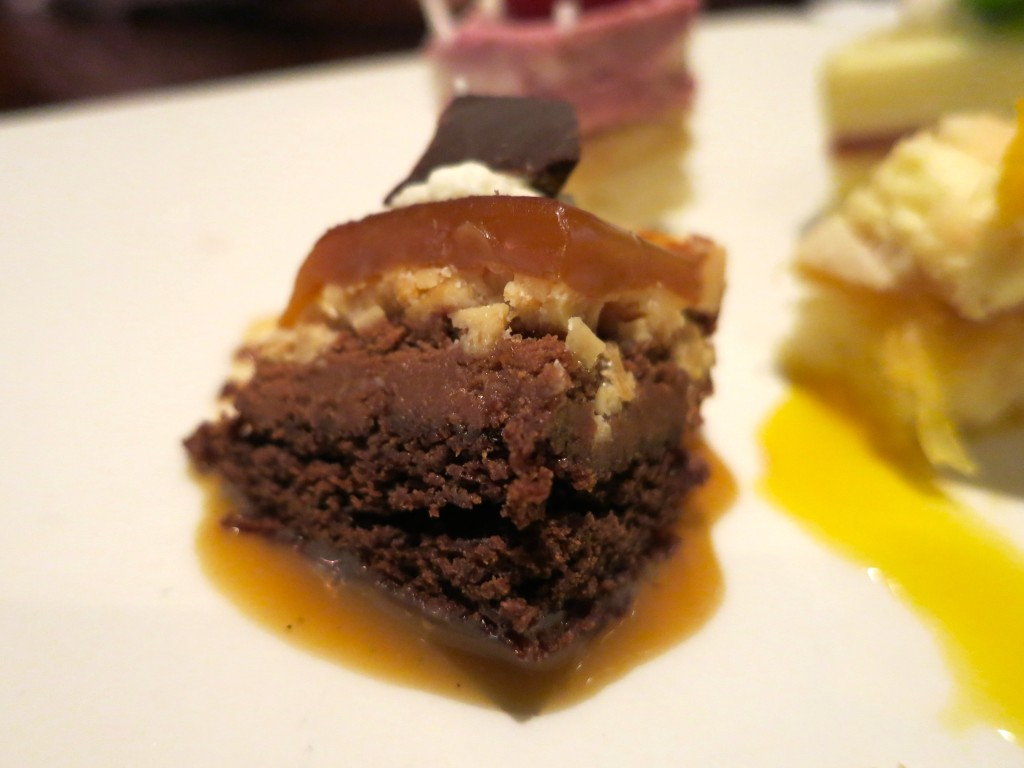 Chocolate peanut butter dessert - my favorite!