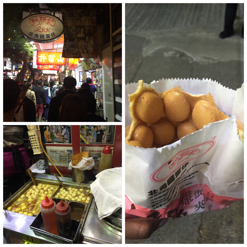Egg waffles are the thing to eat in Hong Kong!
