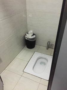 The toilet situation in Shanghai. Get ready!