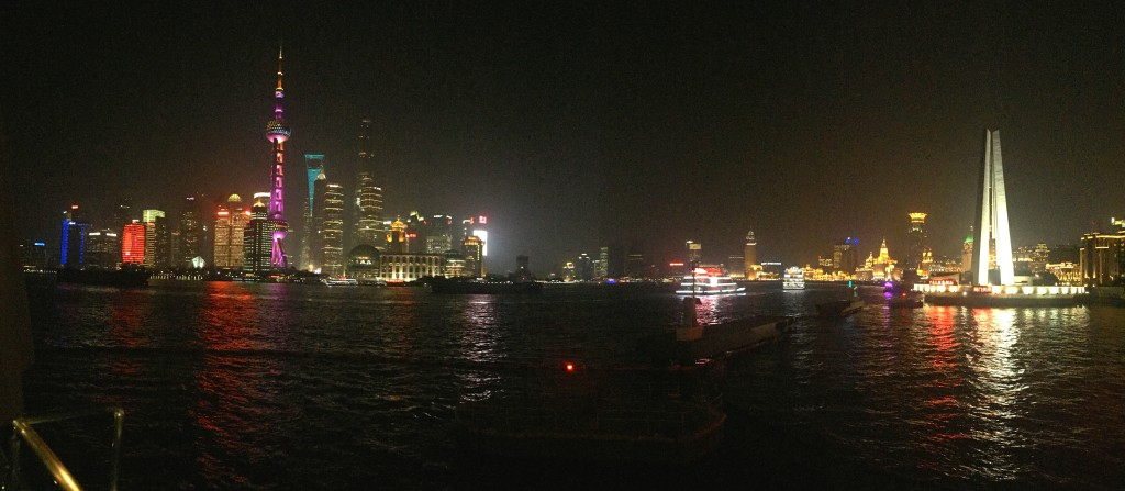 Shanghai's breathtaking skyline!